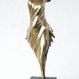 Bronze abstract sculprure NIKE