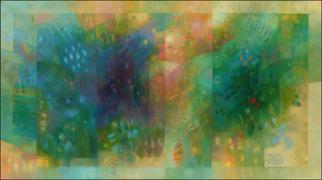 Robert Pelles Artwork The garden, 2014 The garden, Abstract