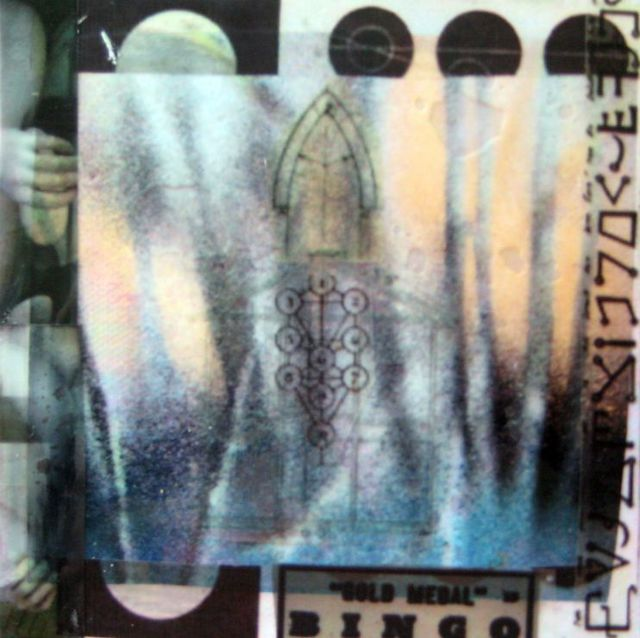 Liz London  'Reach Out Of The Darkness', created in 2008, Original Collage.