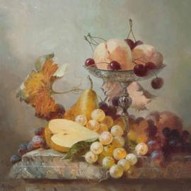 Serge Akopov: 'fruits', 2016 Oil Painting, Still Life. Artist Description: painting, still life, oil painting, fruits...