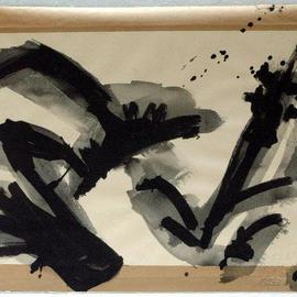 Andreas Loeschner Gornau Artwork 100 drawings for Amadeus number 87, 1997 Gouache Drawing, Music