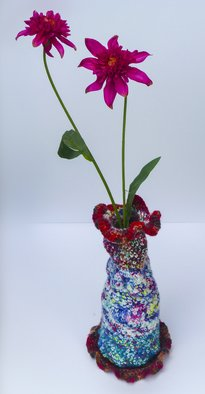 Andreas Loeschner Gornau Artwork Small vase 4,  picture 4 of 4, 2014 Textile Art, Home