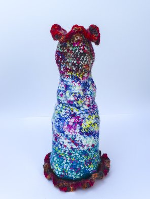 Andreas Loeschner Gornau Artwork Small vase 4, picture 1 of 4, 2014 Textile Art, Culture