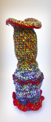 Andreas Loeschner Gornau Artwork Small vase 5, picture 1 of 5, 2014 Textile Art, Culture