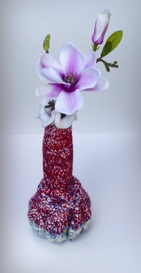 Andreas Loeschner Gornau Artwork Small vase 9 picture 4 of 4, 2014 Textile Art, Floral