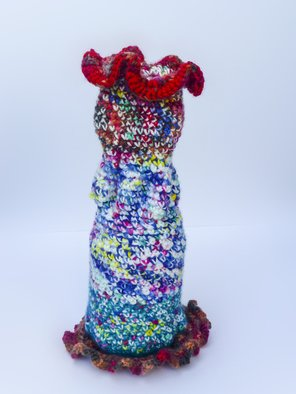 Andreas Loeschner Gornau Artwork  Small vase 4,  picture 2 of 4, 2014 Textile Art, Botanical