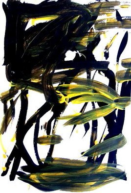 Lois Di Cosola: 'December 20', 2008 Tempera Painting, Abstract Landscape. Artist Description: from the December gouache paintings on paper...