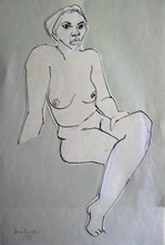 - artwork figure_drawing-1251931168.jpg - 1951, Drawing Pen, Figurative