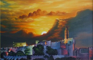 Artist: Igor Lomei - Title: Jerusalem - Medium: Oil Painting - Year: 2011