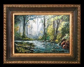 Vranceanu Aurelian: 'morning in forest spring', 2018 Painting, Landscape. Artist Description: Morning in forest spring- oil on canvas- landscape- 66x46cmm- realism  romantic- created in 2018- for info - tel +40764800326 or +40724633073 , mail radu_ aurel2004yahoo. com  facebook Radu Aurelian Exhibition...