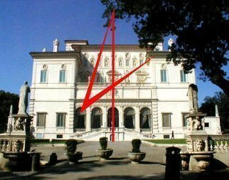 Asbjorn Lonvig: '4 you', 2003 Steel Sculpture, Abstract. At Villa Borghese, Rome.In 2002 I investigated the