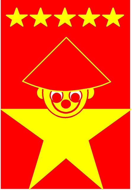 Asbjorn Lonvig  'China Two The 5 Star Chinese Smile', created in 2005, Original Painting Other.