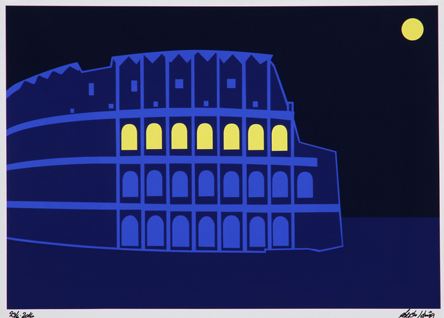Asbjorn Lonvig  'Colosseum', created in 2016, Original Painting Other.