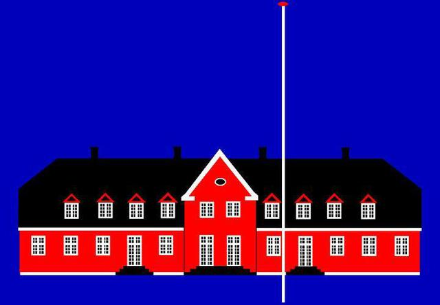 Asbjorn Lonvig  'Denmark Forty Eight Wiliamsborg Manor House', created in 2005, Original Painting Other.