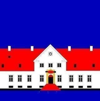 Collage by Asbjorn Lonvig titled: Denmark Nineteen Bygholm, 2005