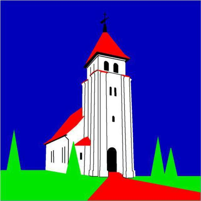 Asbjorn Lonvig  'Denmark Thrity Two The Church In North Bjert', created in 2005, Original Painting Other.