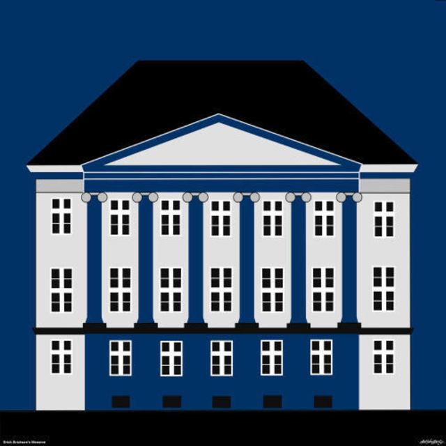 Asbjorn Lonvig, Erich Erichsen Mansion In Copenhagen