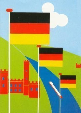 Collage by Asbjorn Lonvig titled: Germany, created in 2002