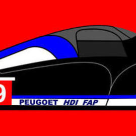 Inspired by Peugeot 908 HDi FAP By Asbjorn Lonvig