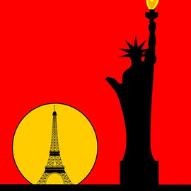 Inspired by the Statue of Liberty in Paris By Asbjorn Lonvig