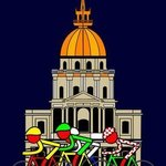 Stage 21 Passing Church at the Invalides  By Asbjorn Lonvig
