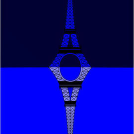 The Eifel Tower Mirror By Asbjorn Lonvig