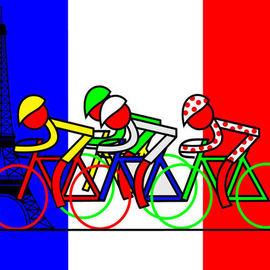 The Tour Arrives in Paris