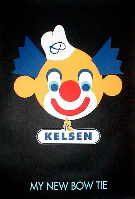 Asbjorn Lonvig  'Clown To Kelsen', created in 1993, Original Painting Other.