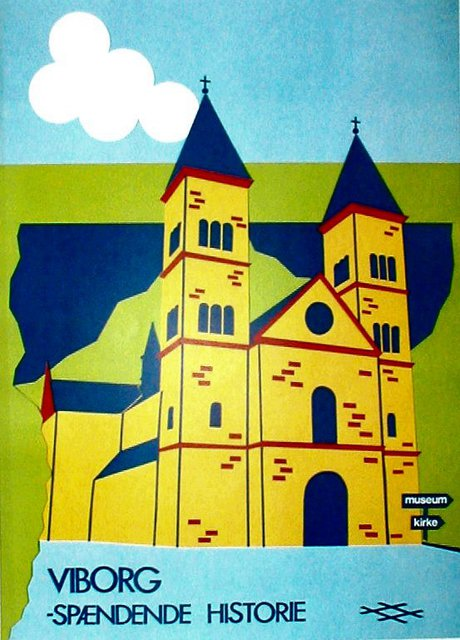 Asbjorn Lonvig  'Viborg', created in 1988, Original Painting Other.
