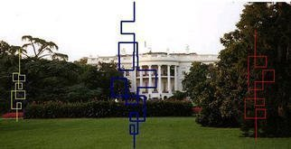 Asbjorn Lonvig: 'we have prevailed', 2003 Steel Sculpture, Abstract. Dear Mr. President, I am a Danish artist.This morning you said