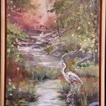 great heron By Judy Uhlig