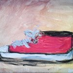 Red Tennis Shoe By Loretta Nash