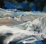 Artist: Lorie Setton, title: Stars and Sleep, 2010, Painting Oil