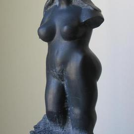 Lou Lalli: 'Black Venus', 1995 Stone Sculpture, Figurative. Artist Description: China black marble...