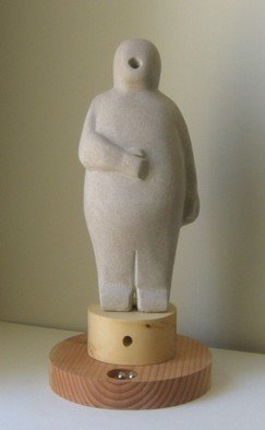 Lou Lalli: 'Feed Me III', 2009 Stone Sculpture, Figurative. Artist Description:    Limestone      ...