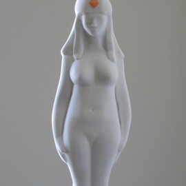 Lou Lalli: 'Isis MMVII', 2007 Stone Sculpture, Figurative. Artist Description:  Recreation of the goddess Isis from a third century AD sculpture ...