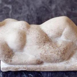 Lou Lalli Artwork Reclining Venus 2, 2000 Stone Sculpture, Figurative