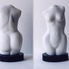 Lou Lalli Artwork Torso, 2003 Stone Sculpture, Figurative