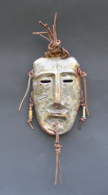Louise Parenteau Artwork AKIRO, 2014 Ceramic Sculpture, Mask