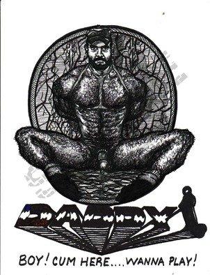Antonio Garrett Artwork Daddy, 2000 Daddy, Erotic