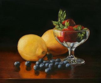 Artist: Laurie Pagels - Title: Fruit Cocktail - Medium: Oil Painting - Year: 2008