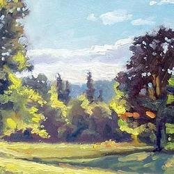 , Summer Color Dance, Landscape, $578