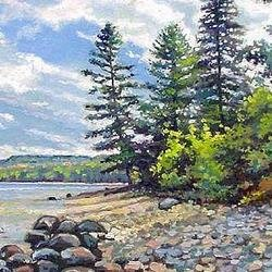 , Up Shores Pictured Rocks , Marine, $1,890