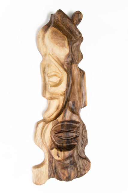 Blazej Siplak  'Head N 8', created in 2017, Original Woodworking.