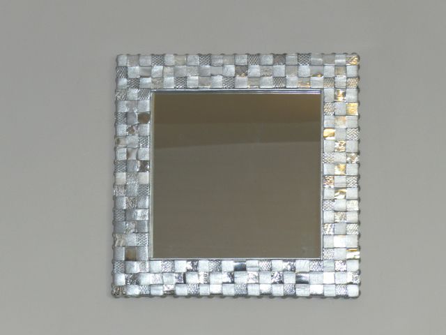 Evelyne Parguel  'Silver Mirror', created in 2015, Original Ceramics Other.