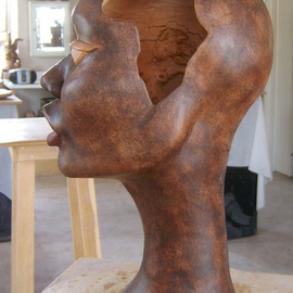 Luc Bihan Artwork Africa, 2010 Other Ceramics, Portrait