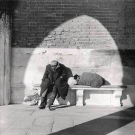 Bernhard Luettmer: 'Gambler', 2002 Silver Gelatin Photograph, Famous People. Artist Description:  Barbone a Venezia ...