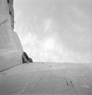 Bernhard Luettmer: 'Love', 1997 Silver Gelatin Photograph, Abstract Landscape. Artist Description:  Silver gelatin print matt.Cararra, Tuscany, Italy ...