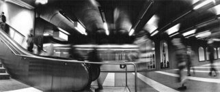 Bernhard Luettmer Artwork Metrodynamic V, 2008 Silver Gelatin Photograph, Urban