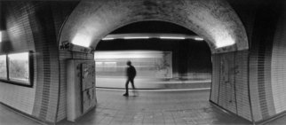 Bernhard Luettmer Artwork Metrodynamic VI, 2008 Silver Gelatin Photograph, Urban